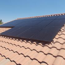 Spanish Tile Solar Installation