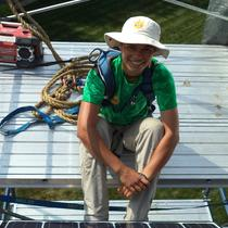Cal Truman, one of our friendly solar installers