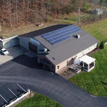 Roof mounted solar system by Paradise Energy